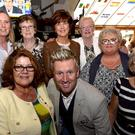 Pictured with Country Entertainer of the Year Mike Denver at the launch of the Gleneagle Summer Cabaret in The Backstage Bar were, from left, Mary O'Sullivan, Kathleen McCarthy, Margaret Casey, Mary O'Shea, Louise Griffin, Kay O'Shea and Evelyn Murphy from Killarney