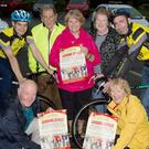 Members of Castleisland Day Care Centre and Cyclists who launched the 2016 Day Care Centre Annual Fun & Leisure Cycle, taking pace on Sunday, September 4, were Rita McCarthy, Eileen Lane, Donal Neligan, Nora Hogan, Shane O'Neill, Kieran Fleming, Marcella Finn, Eamon Breen and Monica Prendiville