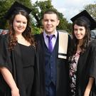 Vicky Stone , Seamus Murphy and Margaret Long were among the graduates at the Kerry College of Further Education Graduation Ceremony last Thursday