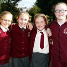 Moyderwell Mercy pupils enjoy the Walk a Mile with a Smile event in the park
