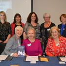 Front left to right: Felicity Hayes-McCoy, Collette Nunan Kenny (Chairperson KWWN), Martina Brennan, Fiona Brennan, Back left to right: Elaine Kinsella, Sonia Elsten, Margaret Sheehan and Lily Tangey