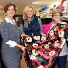 Launching the eighth Killorglin Charity Fashion Show were Fiona Hyde, Liane Dee and Mary O'Connor of Pillbox. It will be on October 25 in Sol y Sombra, Killorglin at 7.30pm. Photo Michelle Cooper Galvin