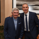 Kerry legend Mick O'Dwyer and next generation legend Kieran Donaghy
