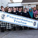 Presentation Secondary Tralee students and staff launched their fundraising night at the dogs on Friday, November 25