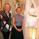And Gently Letting Go of their wonderful artworks at the exhibition of the same name are, from left, Noreen Breen, Susan Hitching and Rebecca Carroll