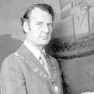 Tralee's Edward J Kelliher in his time as President of the Dublin Chamber of Commerce. Edward was MD of Eason's from 1970 until retirement in 1984