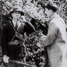 Thomas G Cooper calling headquarters with (right) Tadgh O'Sullivan in 'The Dawn'