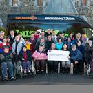 The 'Buy a Bus' campaign for Kerry Parents and Friends has reached its goal in just a few short months as a brand new bus, pictured above at The Old Monastery in Killarney, has been secured. Now those goalposts have shifted and Agnes Casey Rooney has ambitiously set her sights on fundraising for another much needed bus