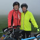 Margaret O' Shea and Siobhán O' Mahony pictured looking ready for road at the Jimmy Duffy Memorial Cycle in Blennerville on Saturday