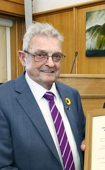 Kerry Person of the Year Ted Moynihan