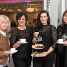 Paulie O'Connor, Siobhan O'Shea, Orla O'Shea and Karen Lucey pictured at the Dromhall Hotel for the coffee morning organised in memory of Sheila Kelliher and raising funds for Palliate Care Kerry at the Dromhall Hotel, Killarney on Thursday
