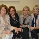 Pauline Comeford, Philomena Smith, Amy Smith and Mary O' Brien pictured at the 'Rags to the Runway' fashion show in Ballyroe on Saturday night