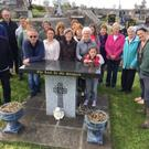 Locals preparing for the Dawn Mass and Fire in KIltomey