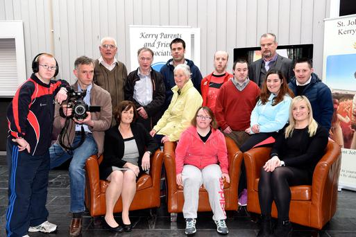 John Paul Doyle, Tadhg Hayes, Maureen Crowley, Janet O'Donoghue, Helena Cronin (centre row from left) Eileen Switzer, Anthony Jones, Amy O'Dea, Stephen Brosnan (back from left) James O'Sullivan, Tim Collins, Brendan O'Sullivan, Paul O'Sullivan, Batt Healy at the Malton, Killarney on Thursday. Photo by Michelle Cooper Galvin