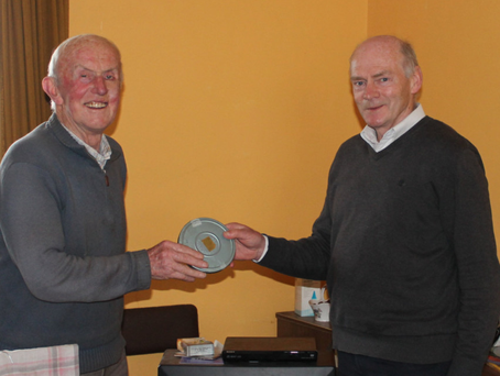 Tom Daly and historian Maurice O'Keeffe
