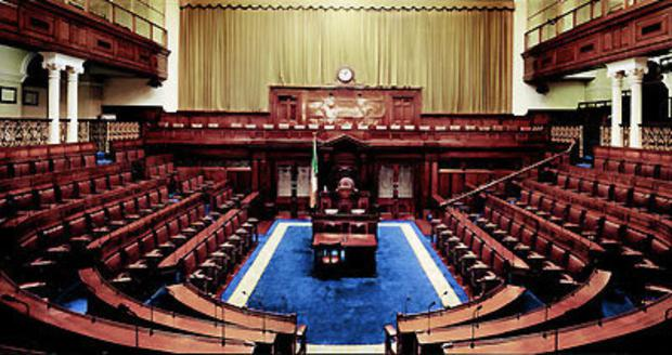 The Dail chamber