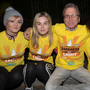 Tara O'Sullivan, Rebecca O'Sullivan,Gerard Griffin and Theresa O'Sullivan who completed the 5k Darkness into Light Walk on Saturday morning from CBS the Green, Tralee