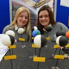MeCadhla Pigott and Orlaith Reynolds of Intermediate School Killorglin at the IT Tralee Sci Fest