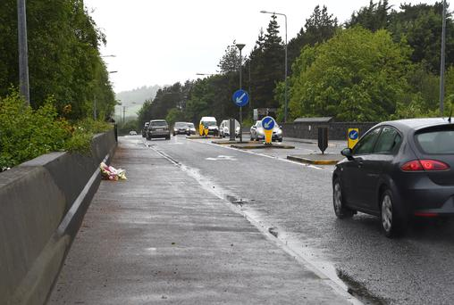The junction from the By Pass in Killarney where Annette Mannix lost her life. Photo by Michelle Cooper Galvin