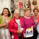 Modelling the latest clothes at Paco Maine Street, Tralee Fashion Show on Friday to raise funds for Recovery Haven, Tralee, l-r: Geraldine Sheehy,Sheila Sayers, Sheila Kennedy,Margaret O'Shea and Phil Hussey