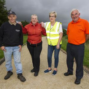 Ray of Sunshine Volunteers, from left: Willie Reidy,Hanna Curtin, Martina O'Mahony and Charlie Farrelly. Photo by John Reidy