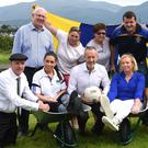Launching Glenfest were Deputy Michael Healy Rae, Danielle Favier, Sean Kelly MEP, Breeda Lynch, James Furlong; (back from left) Deputy John Brassil, Michelle Morris, Peggy Horan, Derry Healy Chairman, Deputy Danny Healy Rae and Marie O'Connor. Photo by Michelle Cooper Galvin