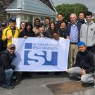 The group of students from the International Space University who visited Kerry this week