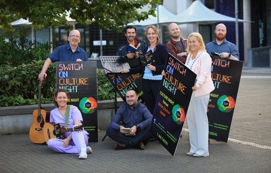 Leas Cathaoirleach, Cllr.Norma Moriarty of the South and West Municipal District, along with Kate Kennelly, Arts Officer at Kerry County Council were in Killorglin this week to mark the launch of Culture Night
