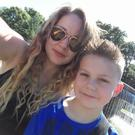 Yana Sokolova and her nine year old son Aaron were terrified by a 'killer clown' prank, which Yana believes has arisen from the release of the new film IT
