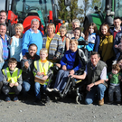 Some of the participants who enjoyed the Charity Tractor Run Kerry event on Sunday. Photo John Cleary
