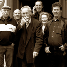There's a strong Inishbofin and Brosna flavour to this line-up of happy people before the 2004 Saturday's singing session at The Poet's Inn. From left are: Desmond O'Halloran, SheilaHealy, Phil Griffin, Christy Cronin, Tim Healy, Con Curtin, Cormac O'Mahony,Anne Curtin, Francis O'Halloran, Diarmuid O'Connor and Andrew Murray. Photo: John Reidy