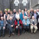 Former pupils of Scoil Náisiúnta Fearann Iarthach attending the recent reunion. Photo by Christy Riordan