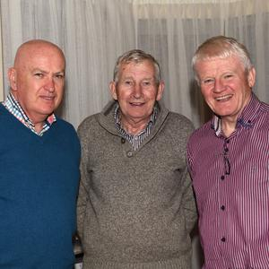 Fintan Lawlor, Paddy O'Keeffe and Gerald Mangan