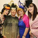 Una Cronin, Margaret Hickey, Margaret O' Sullivan and Julie Kelleher dressed by Lady Lydia, Kanturk and with hats from The Hat Box, Lombardstown at the Friends of the Children of Chernobyl Fashion Show