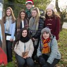Students of Mercy Mounthawk Secondary School, Michael Moynihan, John McCrohan, Isabelle Crowe, Niamh Ryan, Molly O'Keeffe and Mairead Kearney getting ready for the school's fashion show which will be on in the School Gym on November 29 at 2pm and 8pm