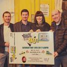 Launching 'Back to the 90s' which will be held this Saturday, are are James Murphy, Kevin O'Sullivan, Patricia McCarthy and John Cronin. Proceeds from the night will go to CF Ireland