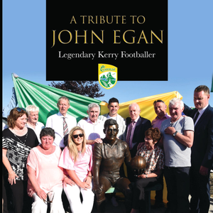 The cover of the recently launched John Egan DVD from videographer Christy Riordan