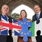 Dr William Sheehan, Conference Organiser; Prof Ursula Kilkelly, Dean of Law at UCC and Micheál Martin TD, Fianna Fáil leader pictured at the launch of the inaugural Killarney Economic Conference which takes place this month