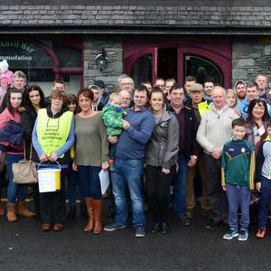 Last year's James Ashe Memorial Vintage Tractor Run in aid of the Palliative Care Unit in University Hospital Kerry drew a great crowd to the Boolteens area of Castlemaine. This year's event will take place on Sunday, January 14. Photo by Fergus Dennehy