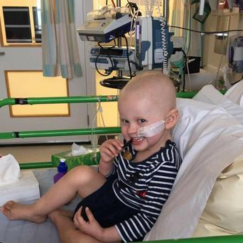 Two-year-old Siobhán Mather, whose parents are from Glencar, is fighting for her life after being diagnosed with a very rare form of child cancer