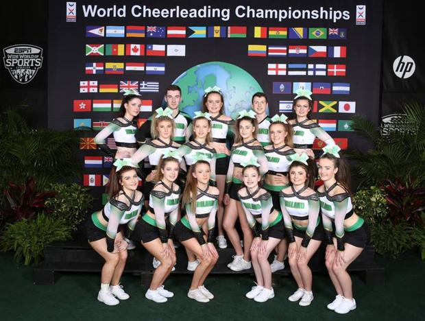 Members of the 'Scorchers All Stars' club in Killarney who will be heading to 'The Summit' cheerleading championships in Orlando, Florida in May this year