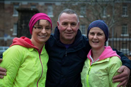 Ann Hussey,Pat Sheehan and Fiona Reidy who took part in the 'Tralee Parkrun' on Saturday.