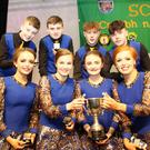 The Spa set dancing team of Cian O'Sullivan, Gary O'Sullivan, Eoghan Mulvaney, Liam Spillane, Siona Moynihan, Orlaith Spillane, Erin Holland and Megahnn Cronin