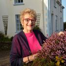 Ros Hubbard at her home in Dingle, enjoying a rare morning of spring sunshine. Photo by Declan Malone