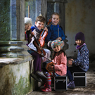 Child's play… young traditional musicians practicing their tunes in Muckross Abbey ahead of The Gathering Traditional Festival which returns to Killarney from February 21-25 at the Gleneagle Hotel, Killarney. Photo by Valerie O'Sullivan