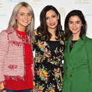 Danielle McHugh, DJ Louise Duffy and Siobhan O'Sullivan pictured at The Muckross Park Hotel on Friday. Photos by Sally MacMonagle