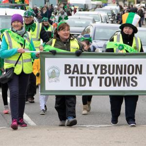 Ballybunion Tidy Towns and their great entry in their hometown parade on Saturday