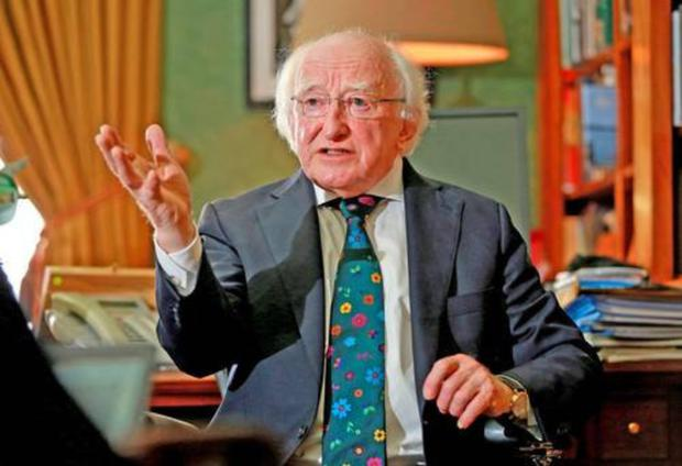 Michael D Higgins has a successful term under his belt so it would take a very confident and self-assured candidate to go up against him.