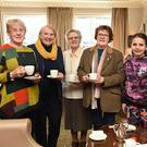 Mary Casey, Mary B Cronin, Sr Maura, Maura Gammell, Annie Rose Vogels and Nancy Hegarty enjoying the Charity Coffee Morning in aid of Children's Hospital Crumlin Research fund at the Royal Hotel, Killarney on Saturday. Photo by Michelle Cooper Galvin