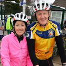 Cycling together: Cathy and Mike Jordan, Blennerville, as they take part in the Tour De Ballyfinnane cycle, on Saturday 45km and 70km routes in aid of Ballyfinnane National School.